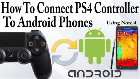 how to connect a ps4 controller to a android device guide issue warnings youtube