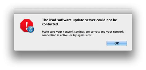 software update iphone software update failed and server could not be