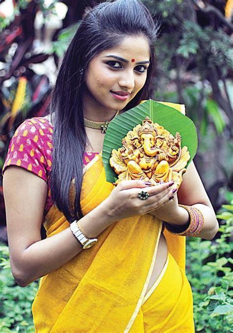 Cute Kannada Actress Rachita Ram Veethi