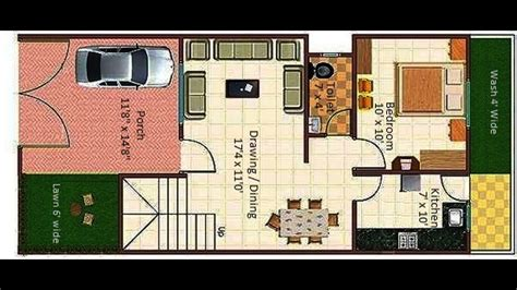 20x40 house plan YouTube