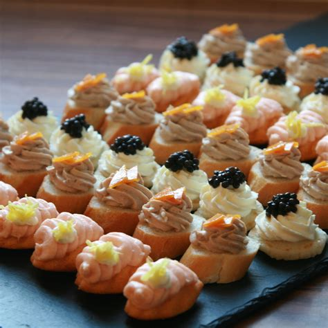 canape food ideas canapes the touch to your bertrand