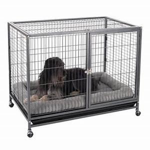 Grande Cage Pour Chien : tabby l cage d 39 int rieur pour chien zooplus ~ Dode.kayakingforconservation.com Idées de Décoration