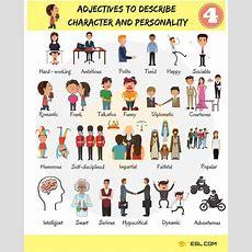 Adjectivestodescribecharacterandpersonality4  Esl Buzz