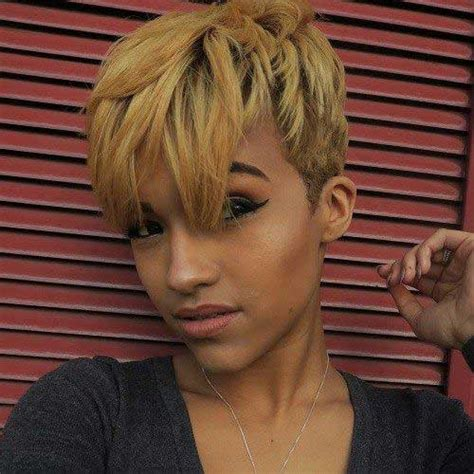20 Pixie Cut For Black Women Short Hairstyles 2017