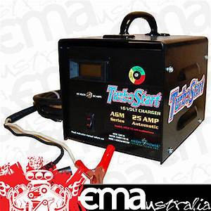 Turbo Start 16v 25amp Automatic Battery Charger