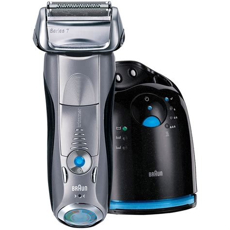 braun series  cc  cordless electric foil shaver  clean