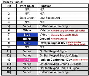 Gm Onstar Mirror Wiring Diagram