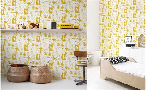 Wallpaper With Animals For Rooms - forest animals wallpaper room wall murals