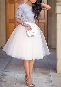 Standesamt Kleidung Damen : wei drapierte grenadine frauen puffy damen mode s e t llrock weiss brautkleid t llrock ~ Orissabook.com Haus und Dekorationen