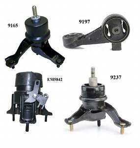 4 Pcs Motor  U0026 Trans  Mount Fit 2002