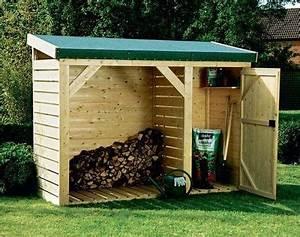 Bucher A Bois : entrenir son jardin en hiver et stocker son bois epicea ~ Edinachiropracticcenter.com Idées de Décoration