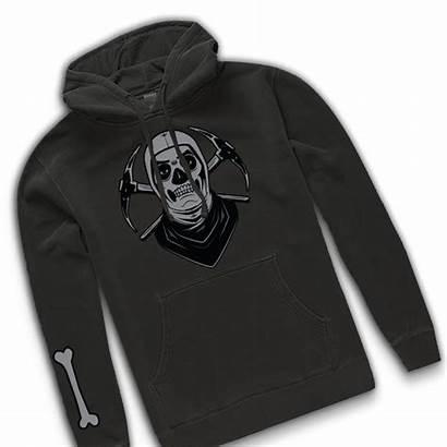 Fortnite Trooper Skull Hoodie Pullover Shadow Drop