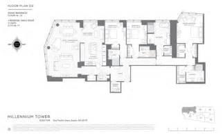 millennium deck 3 plan floor plans for millennium tower boston released boston