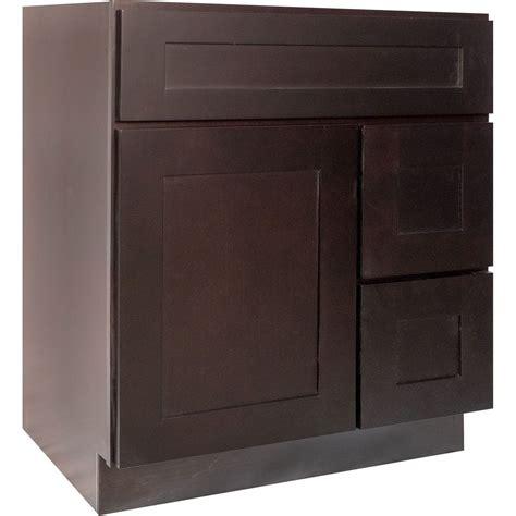 Cabinet Dark Brown Shaker Kitchen Cabinets Hardware Wood