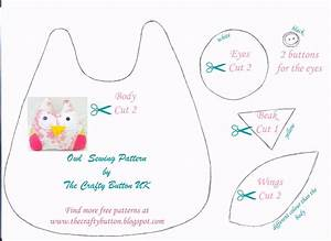 free printable owl pattern template With owl templates for sewing