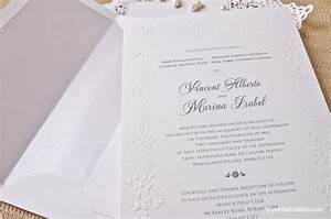 filipino wedding invitation printsonalities your personal With traditional wedding invitations philippines