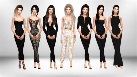 favorite jumpsuits hair xx immortalsims