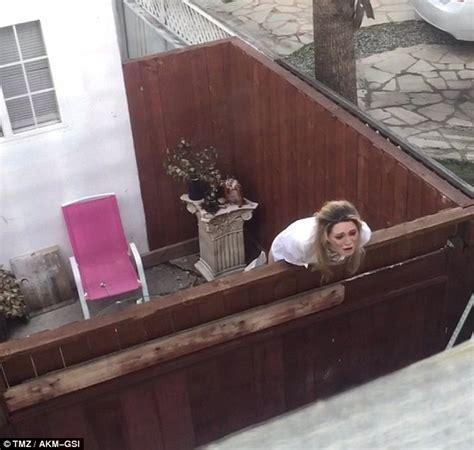 Neighbors In Backyard by Mischa Barton Taken To Hospital For Mental Evaluation