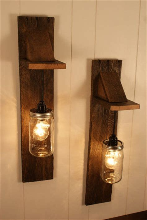 diy pallet jar chandelier light fixture pictures
