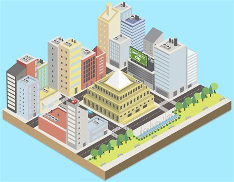 As you can see, we reset the rotated transform. Svg Isometric City Animation - DesignTheWay