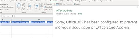 Office 365 Portal Not Showing by Dynamics 365 Add In Not Showing In Office 365 Despite