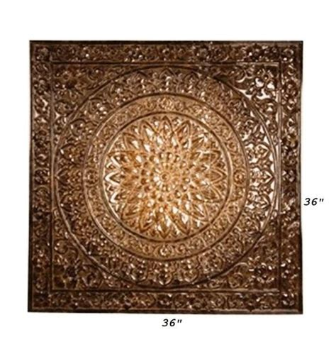 large tuscan embossed metal ceiling tile design wall decor