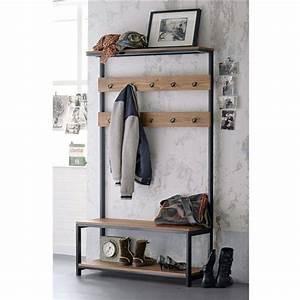 Ikea Meuble Entree : meuble d 39 entr e hiba la redoute meuble vestiaire et pin massif ~ Preciouscoupons.com Idées de Décoration