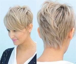 Coiffure Blonde Courte : coiffure femme court blonde omyoga ~ Melissatoandfro.com Idées de Décoration