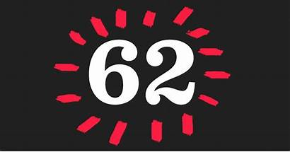 62 Number Digital Happy Entry Re Sixty