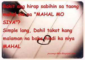 I Love You Quotes Tagalog QuotesGram