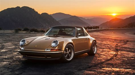 2015 Singer Porsche 911 Targa Wallpaper Hd Car Wallpapers