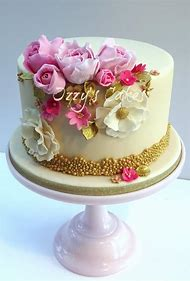 Elegant Birthday Cakes Women