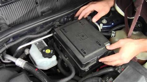 Chevy Ssr Fuse Box Location by How To Access Fuse Box On 2008 Chevy Equinox