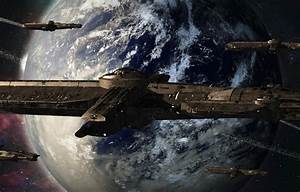 Wallpaper planet, asteroids, The Crossing, ring, science ...