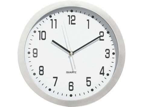 horloge 31 cm silver coloris métal vente de horloge