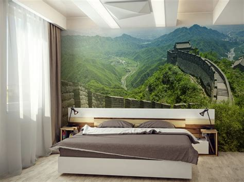 Wall Mural : Nature-inspired Eye-deceiving Wall Murals To Make Your