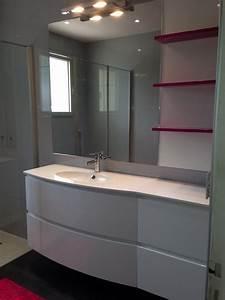 porte de douche coulissante sur mesure 9 meuble de With porte de douche coulissante avec meuble de salle de bain à suspendre