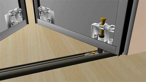Mirror Closet Door Bottom Track