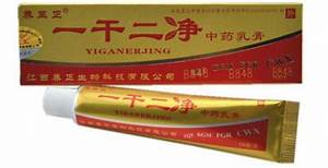 Китайский крем от псориаза yiganerjing состав