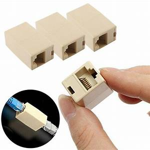 5pcs Rj45 Ethernet Network Lan Cat 5 5e