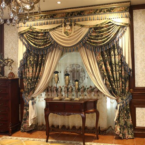 chenille material window coverings curtains  luxurious