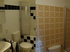 Folie Möbel überkleben : badezimmer fliesen folie design ~ Michelbontemps.com Haus und Dekorationen
