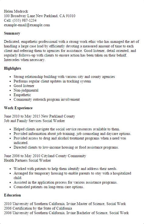 how to write a social work resume 28 images social professional social worker templates to showcase your