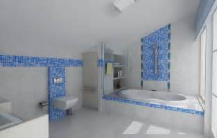wall tiles bathroom ideas cheerful bathroom design ideas with blue mosaic tile bathroom wall design oval white
