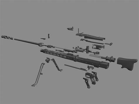 Maschinengewehr 42 (models> Guns > Machine Guns)