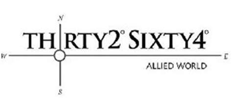 Allied world assurance company is a global provider of innovative property, casualty and specialty insurance and reinsurance solutions. THRTY2° SIXTY4° ALLIED WORLD W N E S Trademark of Allied World Assurance Company (U.S.) Inc ...