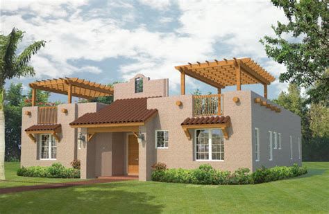 Southwestern Style Homes by Southwest Style House Plans Southwestern Home Eplans Kaf