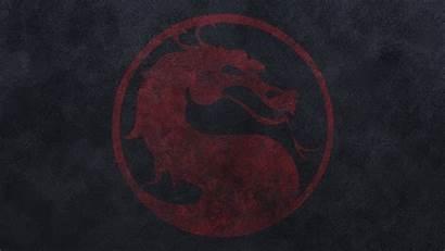 Kombat Mortal Dragon Background Games Wallpapers Logos