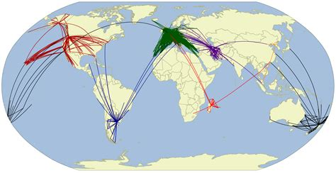 airline route maps james 39 geo blog
