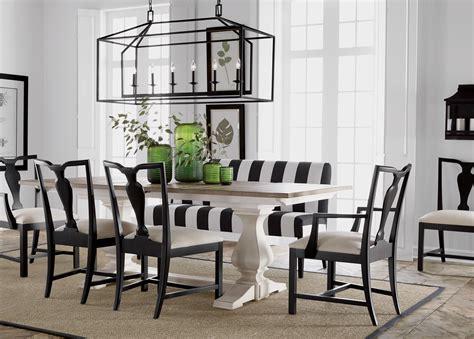 black  white dining room ethan allen ethan